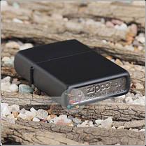 Зажигалка Zippo 218 CLASSIC black matte, фото 2