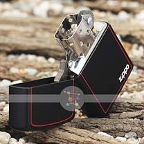 Зажигалка Zippo 218 ZB CLASSIC black matte with zippo , фото 3
