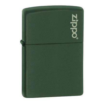 Зажигалка Zippo 221 ZL CLASSIC green matte with zippo, фото 2