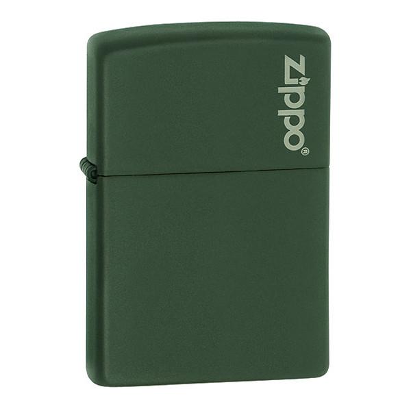 Зажигалка Zippo 221 ZL CLASSIC green matte with zippo