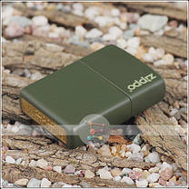Зажигалка Zippo 221 ZL CLASSIC green matte with zippo, фото 3