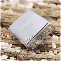 Зажигалка Zippo 230 CLASSIC brushed chrome, фото 2