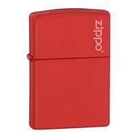 Зажигалка Zippo 233ZL CLASSIC red matte with zippo