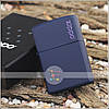 Зажигалка Zippo 239ZL CLASSIC navy matte with zippo , фото 2