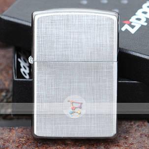 Зажигалка Zippo 28181 REG LINEN WEAVE, фото 2