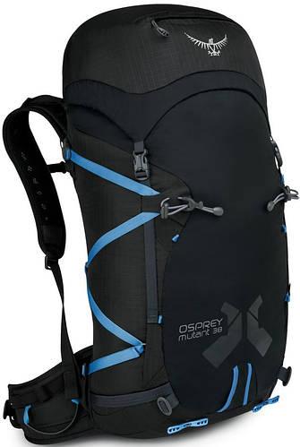 Вместительный, надежный рюкзак на 38 л. Osprey Mutant 38 M/L черный