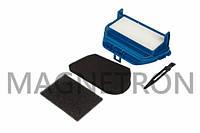 Набор фильтров выходной HEPA + поролоновый+ поролоновый контейнера + щеточка для пылесосов Rowenta ZR004701 (код:20029)