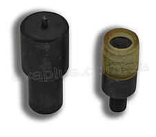 Матрица для установки хольнитенов 6 мм.(односторон.)