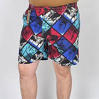 Мужские пляжные шорты - абстракция, код: 41-374