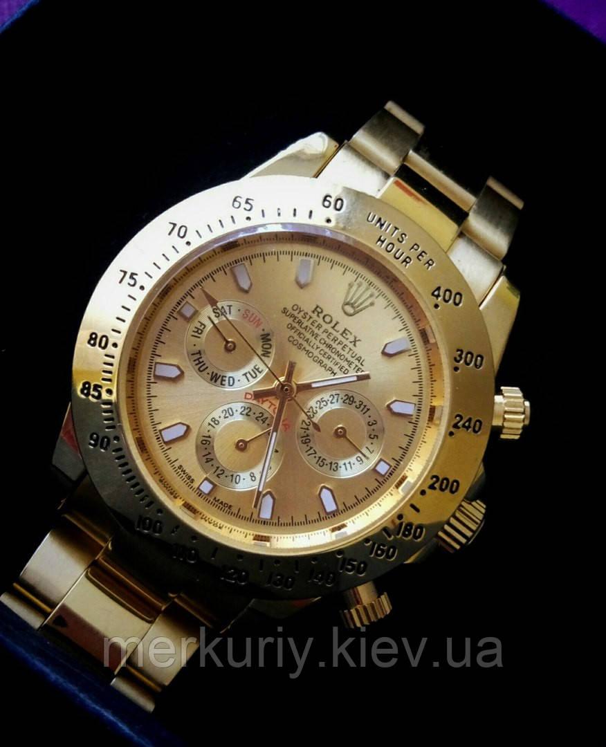 Часы Rolex Daytona Gold cosmograph купить  продажа 5d80819fc053f