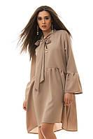 Платье женское 2084 бант (деми)