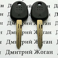 Корпус авто ключа под чип для Hyundai H1, Tucson, Verna, Santa Fe(00-06) (Хундай), лезвие HYN6T14