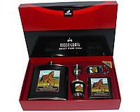 Подарочный набор с флягой для мужчин №2077 The Mustang