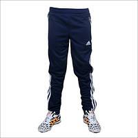 Детские футбольные спортивные брюки Adidas Tiro 13 (синие) 128