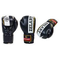 Перчатки боксерские Zel ZB-4277-BK