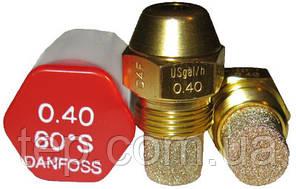 Форсунка Danfoss OD 0.4 Usgal/h 60° S (1.46 kg/h)