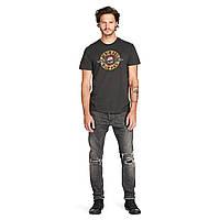 Темно-серая футболка с принтом Ralph Lauren, фото 1