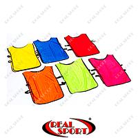 Манишка (накидка) мужская односторонняя с резинкой CO-4000 (PL, р-р 66см-44см+20см,  цвета в ассортименте)