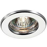 Точечный светильник спот MR16 хром