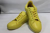 Женские кроссовки VICES желтого цвета