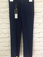 Детские классические брюки для мальчика 122-140