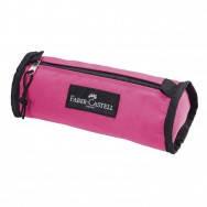 """Пенал мягкий Faber-Castel 573528 """"COLLEGE"""" розовый, 1 отделение на молнии, 225х 95х 90мм"""