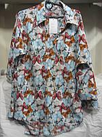 "Блуза женская полубатал (штапель) бабочки Розница ""Assorti"" R-4473"