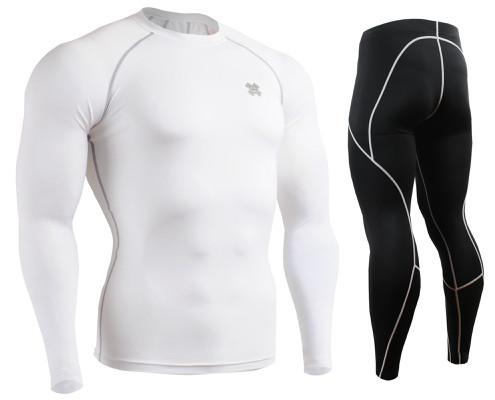 Комплект Рашгард Fixgear и компрессионные штаны CPL-WS+P2L-BS