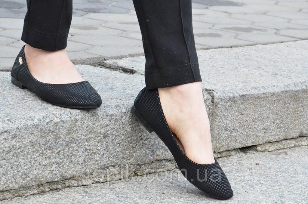 e7f349bde Балетки, туфли женские легкие удобные черные (Код: 463): купить в ...