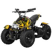 Детский  квадроцикл Profi HB-6 EATV 800-13 , 800W, 30км.ч., фара, камуфляж желтый