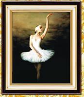 Балерина букет 5Д (частичная выкладка) 25*35 см