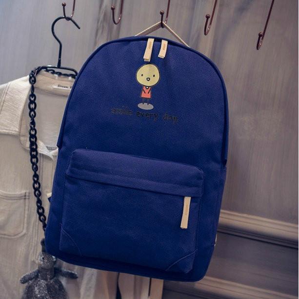 Городской рюкзак Смайл синий