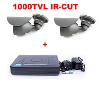 Комплект видеонаблюдения 1 камера 1000 TVL DVR H960