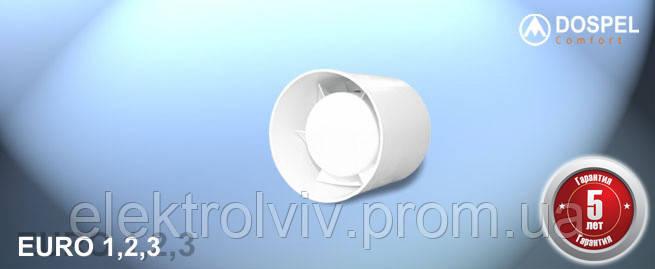 Вентилятор EURO 1 (100мм), фото 2