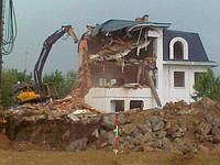 Демонтаж снос зданий и сооружений в Киеве и Киевской области
