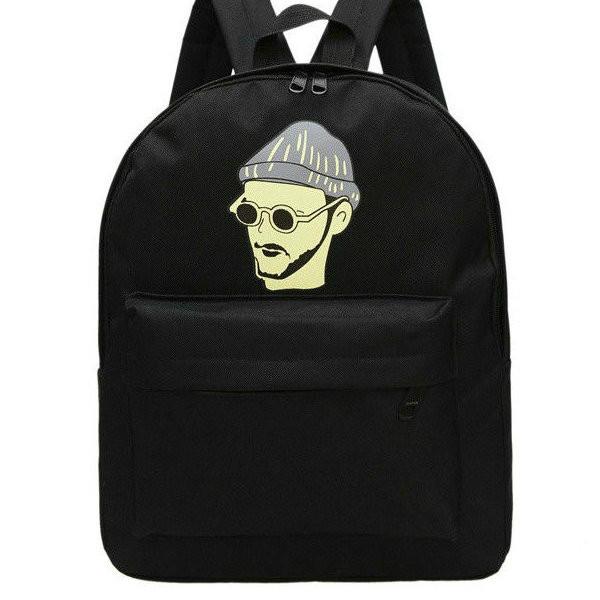 качественный черный рюкзак
