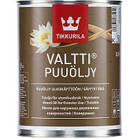 Валтти масло для дерева.VALTTI PUUOLJY.Масло для наружных деревянных поверхностей. Валтті Олія для дерева 0,9л