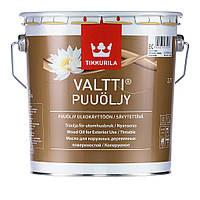 Валтти масло для дерева.VALTTI PUUOLJY.Масло для наружных деревянных поверхностей. Валтті Олія для дерева 2,7л
