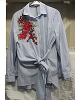 """Блуза женская полубатал (хлопок) розы 2 Розница """"Assorti"""" R-4473"""