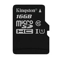 Карта памяти 16 Gb microSD Kingston UHS-I G2 (Premium) SDC10G2/16GBSP (без адаптера)., фото 1