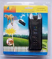 Ультразвуковой отпугиватель-дресировка собак ZF-851E с фонариком