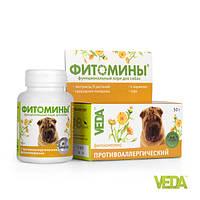Фитомины против аллергии для собак Фитоэлита