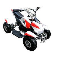 Квадроцикл детский Profi HB-6 EATV 800-3-11 , 800W, фара, 30 км.ч.,красно-серый