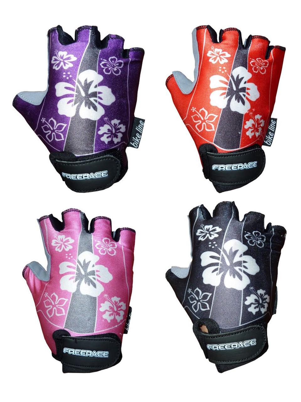 Перчатки для велосипеда детские для девочек LISA