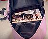 Городской рюкзак стильный однотонный, фото 4