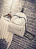 Городской рюкзак стильный однотонный, фото 5