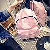 Городской рюкзак стильный однотонный, фото 9
