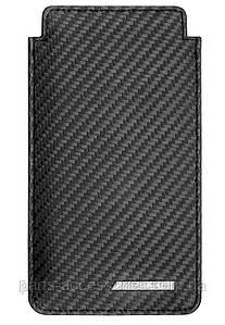 Чехол для iPhone 6 AMG Carbon карбоновая кожа Новый Оригинал Mercedes-Benz