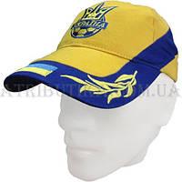 Бейсболка Украина Лавры желто-синяя Е41