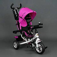 Детский трёхколёсный велосипед Best Trike,розовый